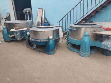 出售9成新100公斤二手�水�C 二手600磅�P式水洗�C 二手洗衣房�O��