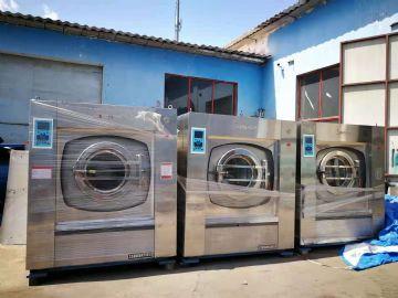 出售9成新100公斤二手水洗�C 二手�C平�C二手折�B�C